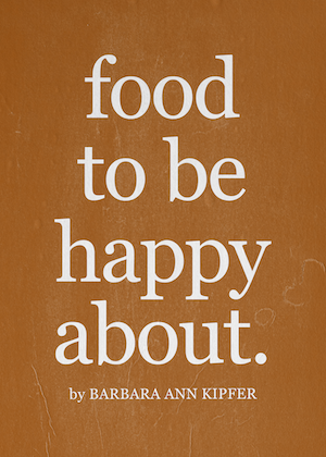 things to be happy about eating