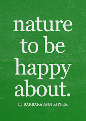 things to be happy about in nature